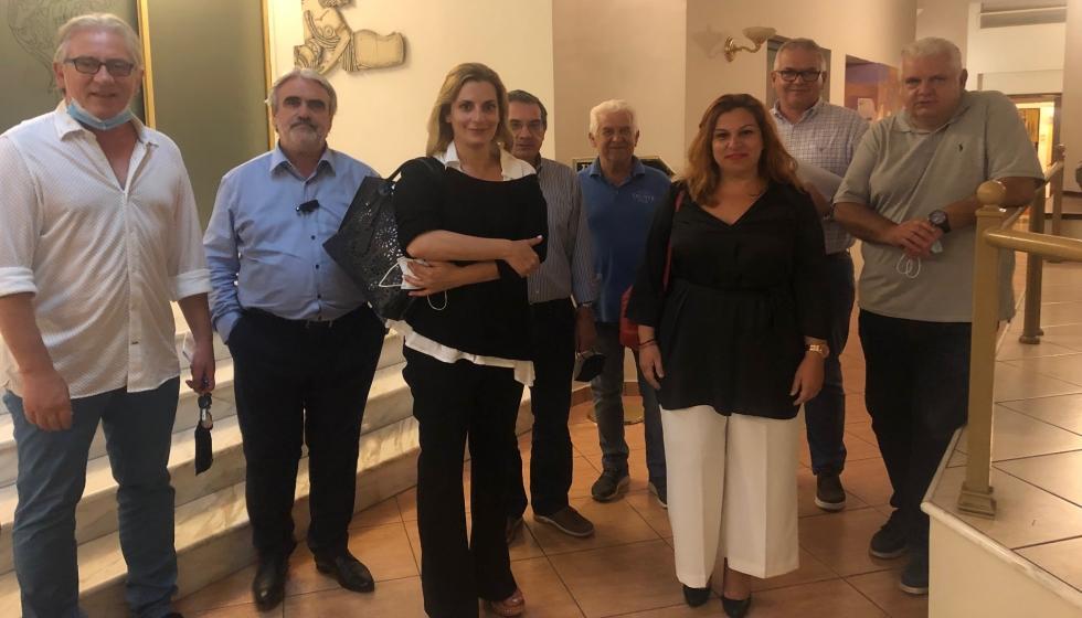 ΄Ενωση Ξενοδοχείων Ν. Τρικάλων:  Συνάντηση του Δ.Σ. με τη Διοίκηση του Ενιαίου τουριστικού φορέα στα Τρίκαλα