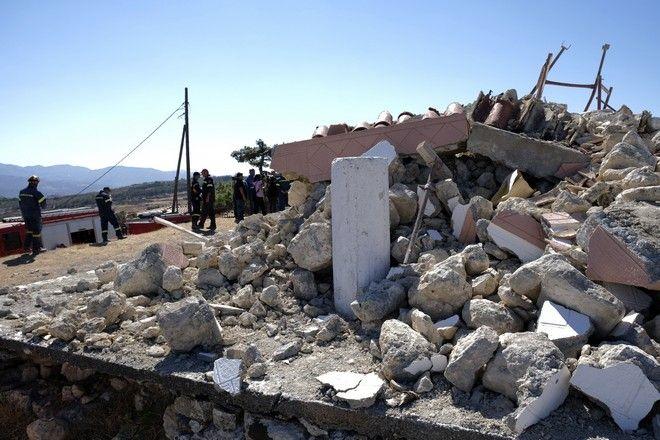 Σεισμός στην Κρήτη: Ένας νεκρός και εννέα τραυματίες