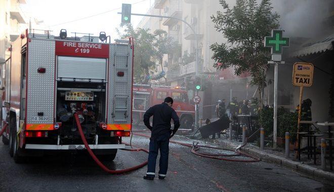 Καλύβια: Επτά οι τραυματίες από την έκρηξη σε δεξαμενή υγραερίου σε σπίτι
