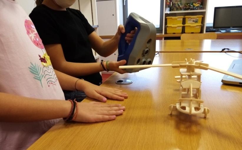 Η Βιβλιοθήκη προσκαλεί μαθητές σε εργαστήριο 3Dσάρωσης και εκτύπωσης