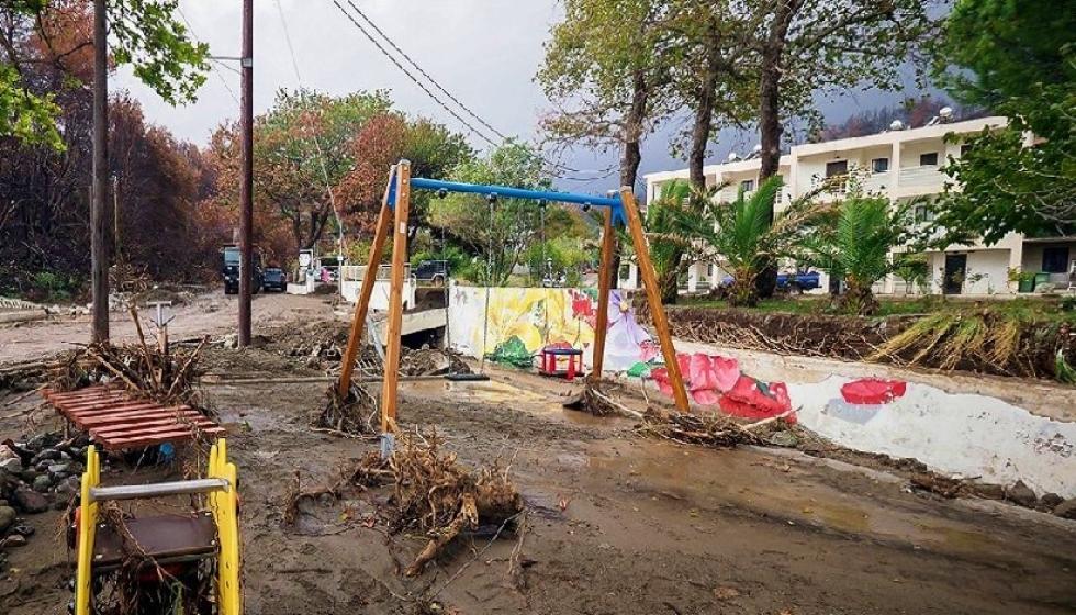 Κακοκαιρία Αθηνά: Σε επιφυλακή ενόψει νέας επιδείνωσης - Καταστροφές σε Εύβοια, Πήλιο, Λάρισα