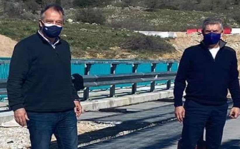 Διαγράμμιση οδικού δικτύου της Π.Ε. Τρικάλων  από την Περιφέρεια Θεσσαλίας