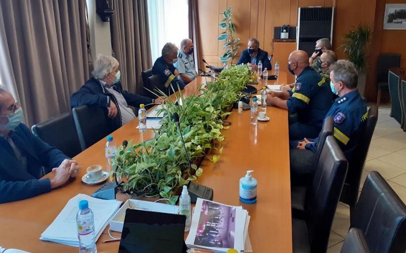 Έκτακτη συνεδρίαση του Συντονιστικού Οργάνου Πολιτικής Προστασίας λόγω