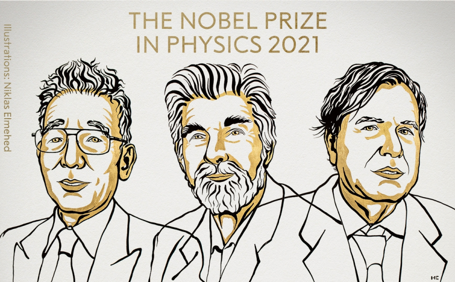 Νόμπελ Φυσικής 2021: Oι τρεις επιστήμονες που βραβεύτηκαν