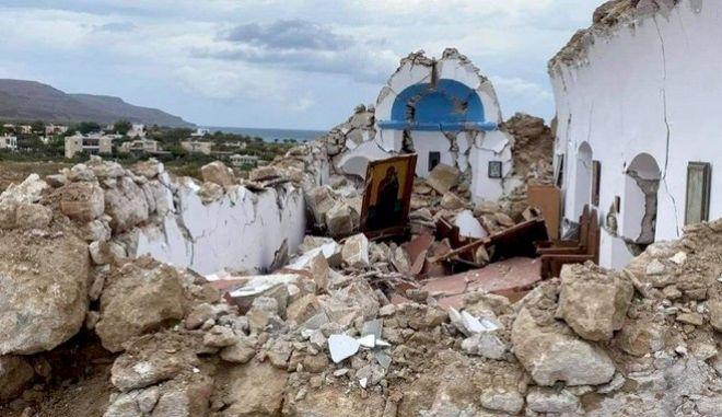 Πολύ ισχυρός σεισμός 6,3 ρίχτερ ανοιχτά της Κρήτης